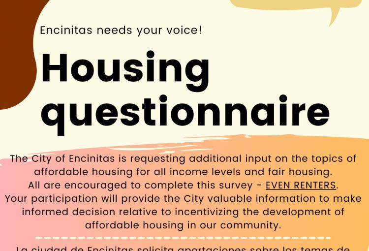 Housing questionnaire
